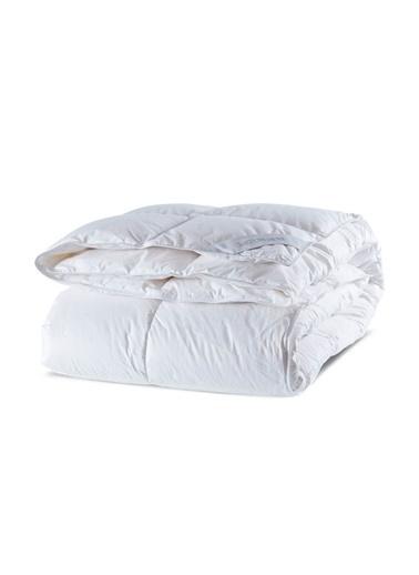 Penelope Lidea Kaz Tüyü Yorgan Battal Boy 220x240 Beyaz
